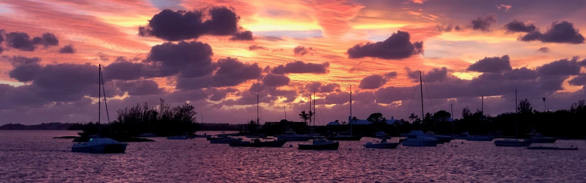 Sunset Darrells Wharf Bermuda